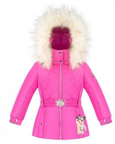 Розовая куртка горнолыжная Poivre Blanc