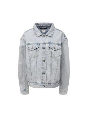 Хлопковая джинсовая куртка - голубая Ksubi