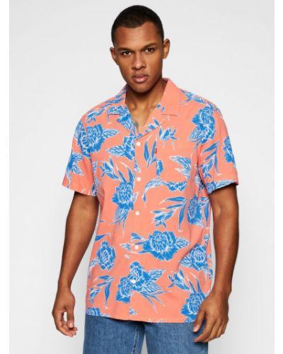 Pomarańczowa klasyczna koszula Levi's