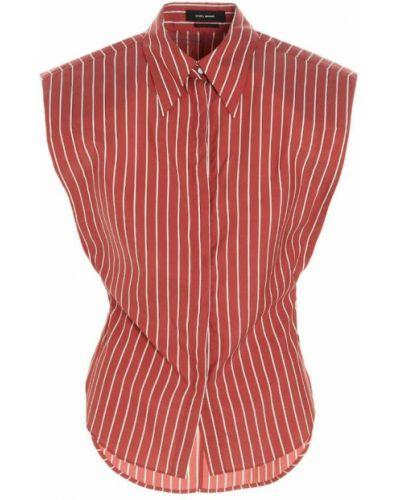 Koszula - czerwona Isabel Marant