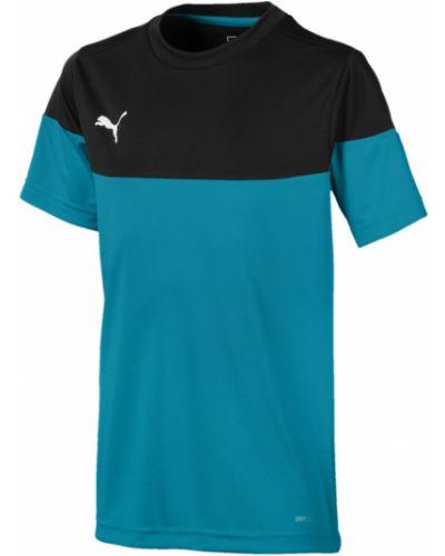 Рубашка черная в клетку Puma