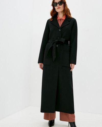 Черное пальто Twinset Milano