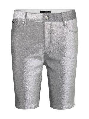 Синие хлопковые теплые джинсовые шорты Rta