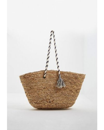 Пляжная сумка соломенная Seafolly Australia