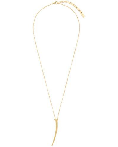 Naszyjnik złoto za pełne Saint Laurent