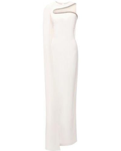 Белое платье макси в пол Stella Mccartney
