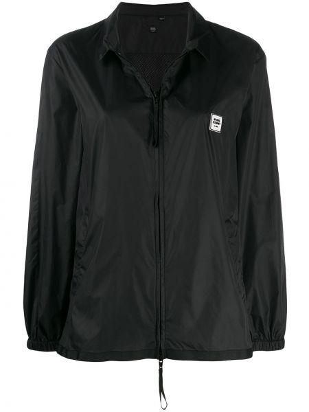 Куртка черная с вышивкой Opening Ceremony
