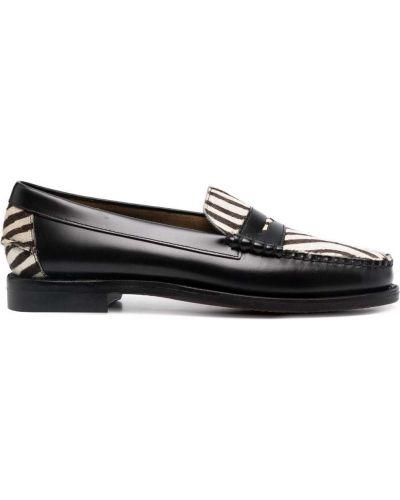 Loafers - czarne Sebago