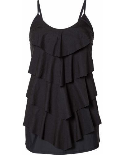 Купальное платье - черное Bonprix