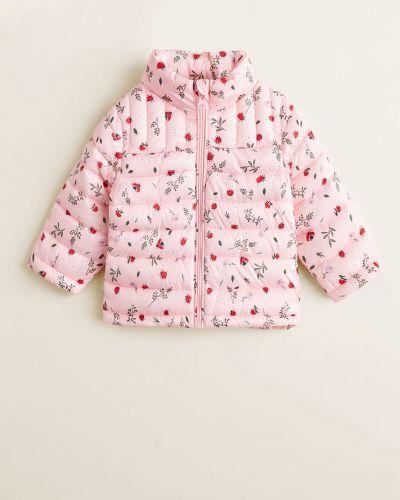 Куртка прямая теплая Mango Kids