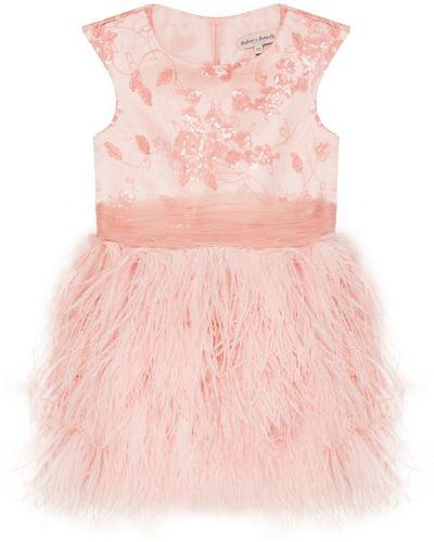 Пышное платье с пайетками с перьями Balloon And Butterfly