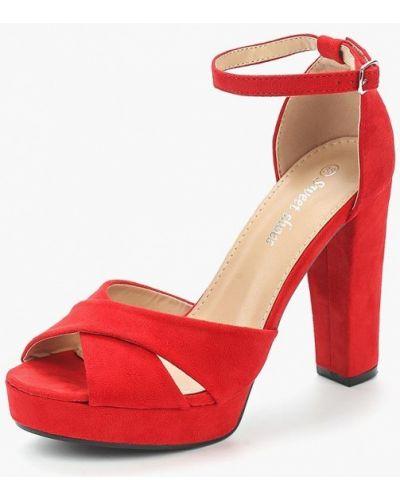 Красные босоножки Sweet Shoes