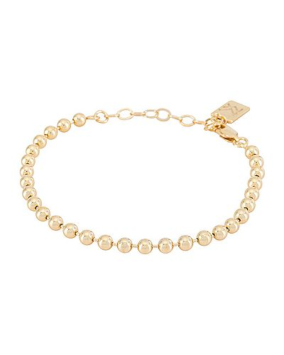 Bransoletka ze złota metal pozłacany złoto Miranda Frye