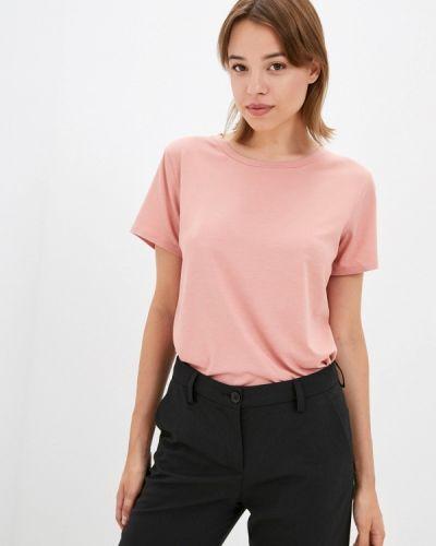 Розовая футболка с короткими рукавами элис
