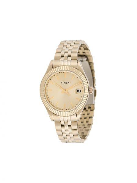 Zegarek wodoodporny szary do twarzy Timex