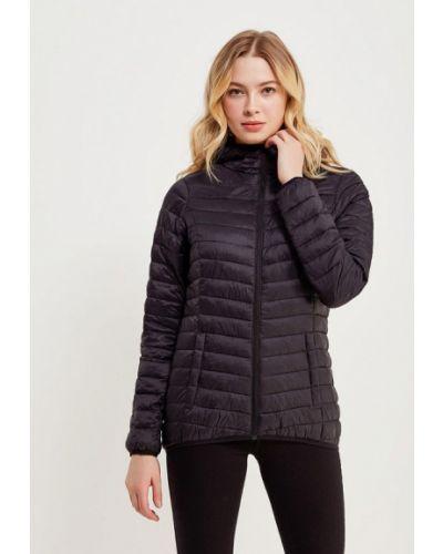 Утепленная куртка черная весенняя Asics