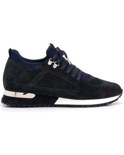 Кроссовки на шнуровке синий Mallet Footwear