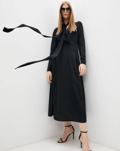 Платье с запахом - черное N°21