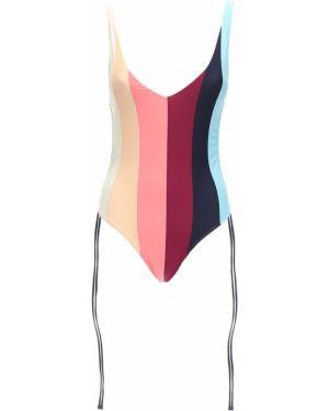 Stroj kąpielowy jednoczęściowy na szyi z więzami Paper London
