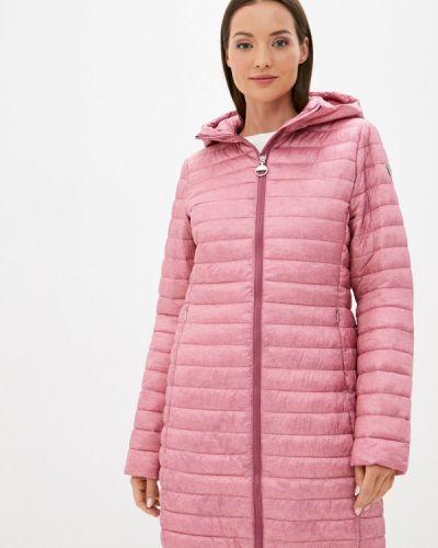 Теплая розовая утепленная куртка Luhta
