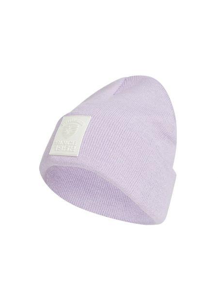 Fioletowa czapka prążkowana Wellensteyn