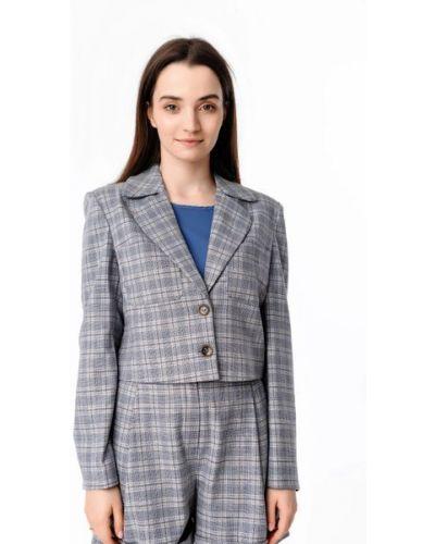 Пиджак короткий - серый Alito