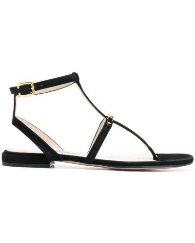 Сандалии кожаный на каблуке Prada