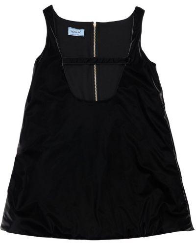 Черное виниловое платье Mi.mi.sol.