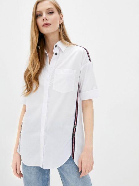 Белая блузка с коротким рукавом Lamiavita