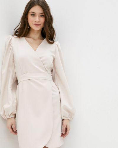 Бежевое платье Rene Santi