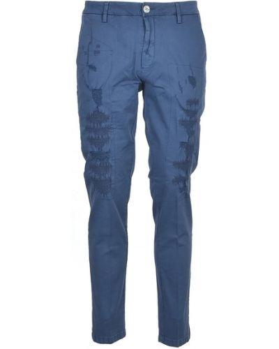 Niebieskie spodnie Aglini