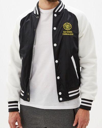 Куртка черная осенняя Young & Rich