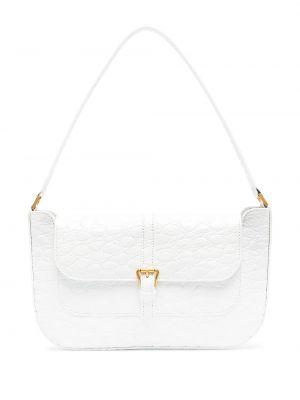 Кожаная сумка - белая By Far