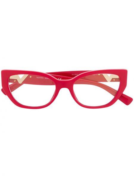 Очки для зрения хаки Valentino Eyewear