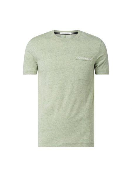 Koszula dzinsowa z logo z kieszeniami Calvin Klein Jeans