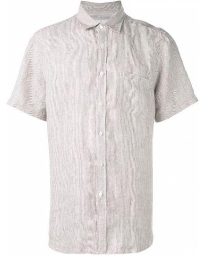 Коричневая классическая фланелевая классическая рубашка на пуговицах Portuguese Flannel