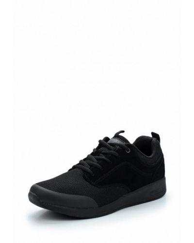 Черные кроссовки замшевые Strobbs