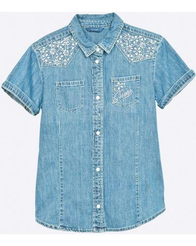 Блуза джинсовый с воротником Guess Jeans