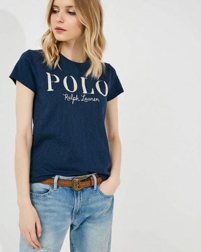 Синяя футболка Polo Ralph Lauren