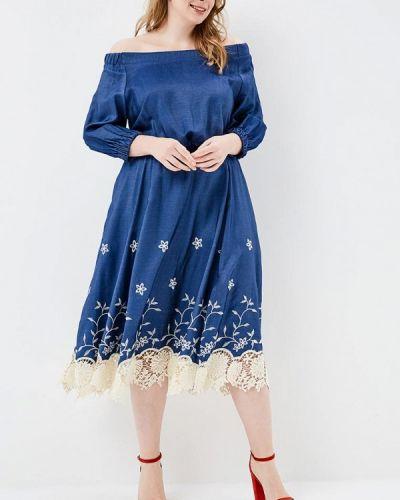 Летнее платье синее Matilda