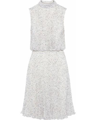 Открытое белое платье с открытой спиной Mikael Aghal