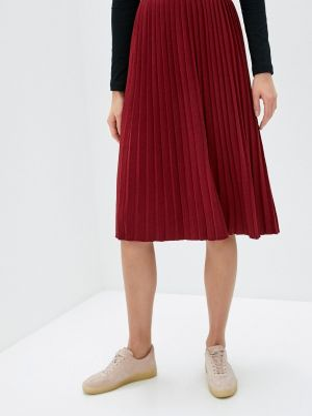 Красная плиссированная юбка Sewel