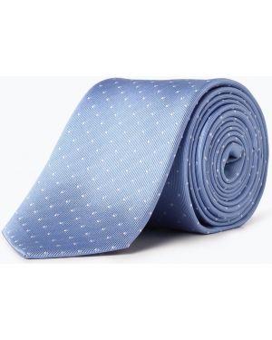 Krawat niebieski Olymp Luxor Modern Fit