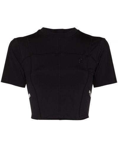Черная футболка с вышивкой P.e Nation