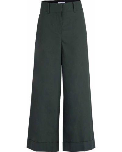 Свободные брюки палаццо с карманами Valentino