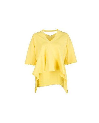 Желтый джемпер летний Nude