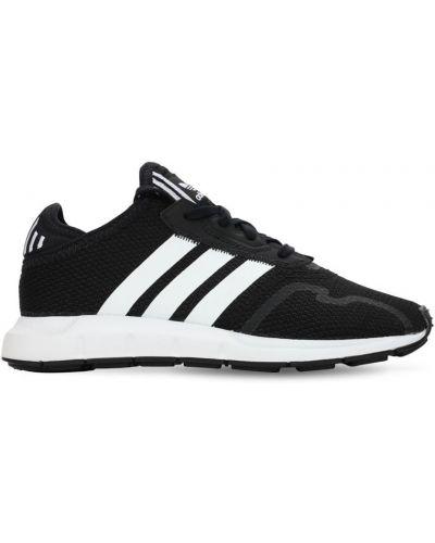 Czarne majtki koronkowe sznurowane Adidas Originals