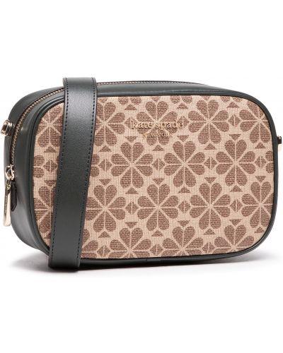 Brązowa klasyczna torebka Kate Spade
