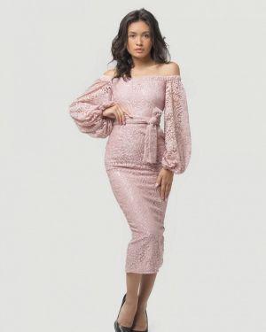 Розовое вечернее платье Lipinskaya Brand