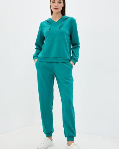 Костюмный зеленый спортивный костюм Malaeva